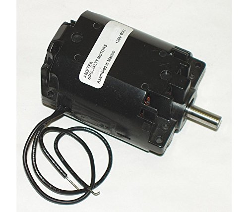 Ametek ac dc power nozzle electric motor 1 4hp 19 500 rpm for 120 rpm ac motor