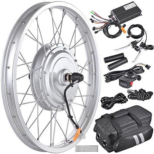 Aw 20 36v 750w Electric Bicycle Front Wheel E Bike Conversion Speed