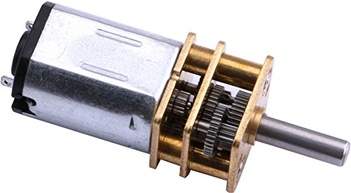 Yeeco Dc 3 6v 100rpm Torque Mini Speed Reduction Motor
